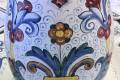 Vaso da fiori a botte