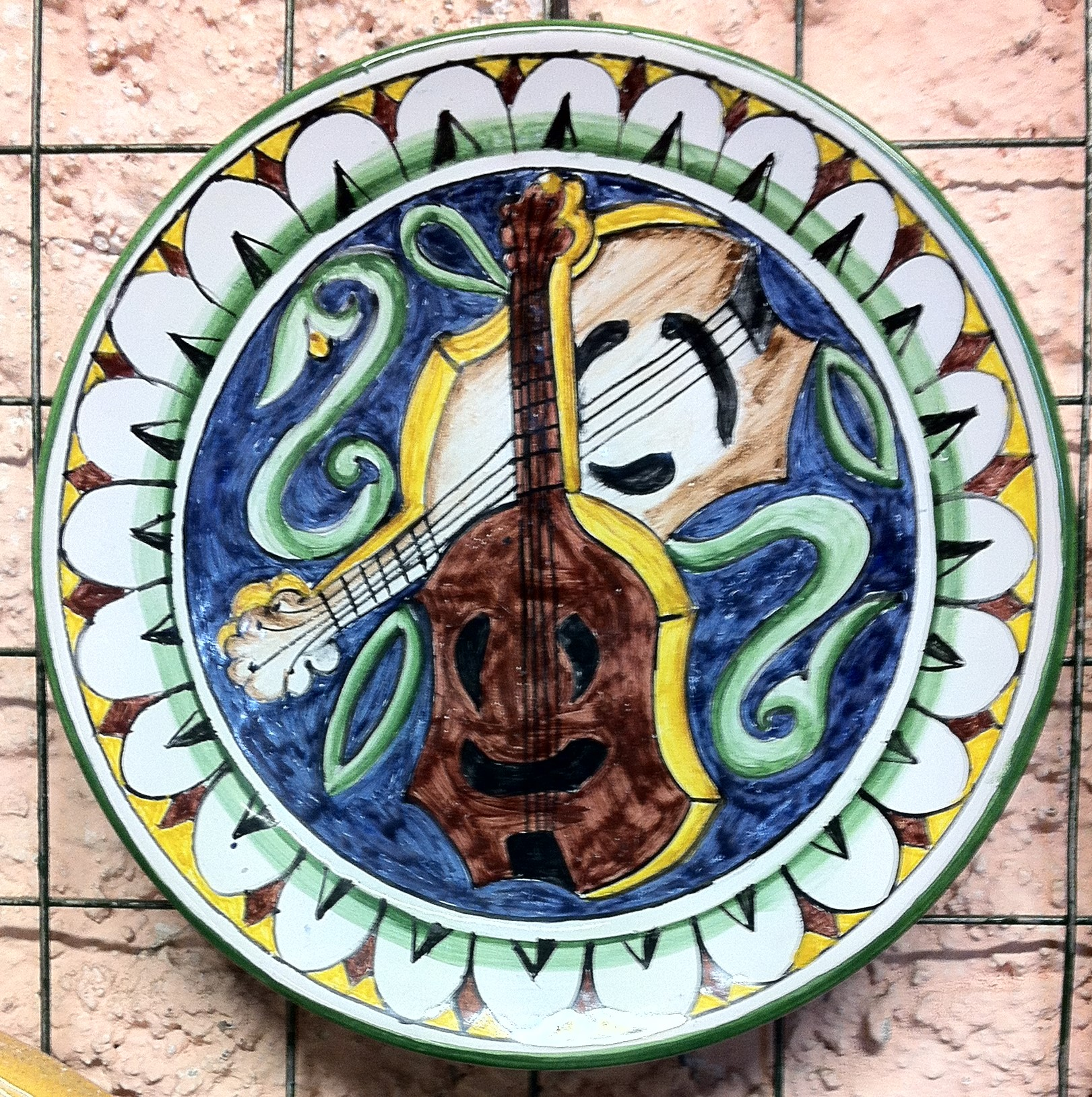 Collezione Cinquecento10 Ceramica del Rinascimento italiano piatto 20cm