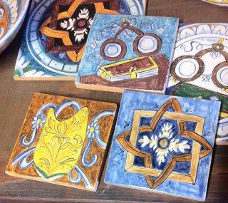 Collezione cinquecento10 ceramiche del Rinascimento